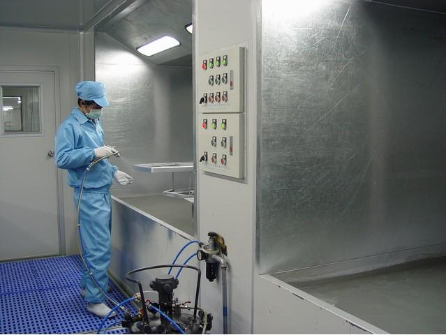 水帘柜生产设备