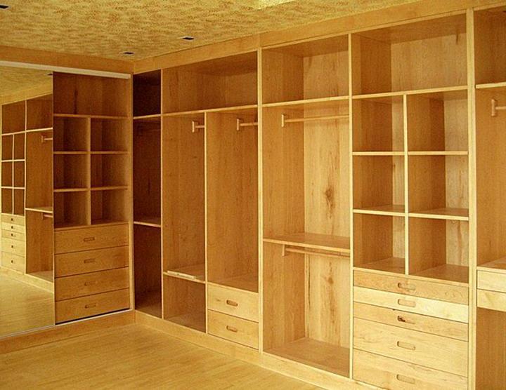 厦门松木衣柜,整体衣柜