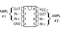lm358引脚  lm358电路  lm358资料