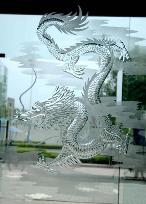 厦门艺术玻璃加工 雕刻玻璃