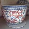 瓷器陶瓷艺术盒子鱼缸厂家生产加工定做定制陶瓷缸订购