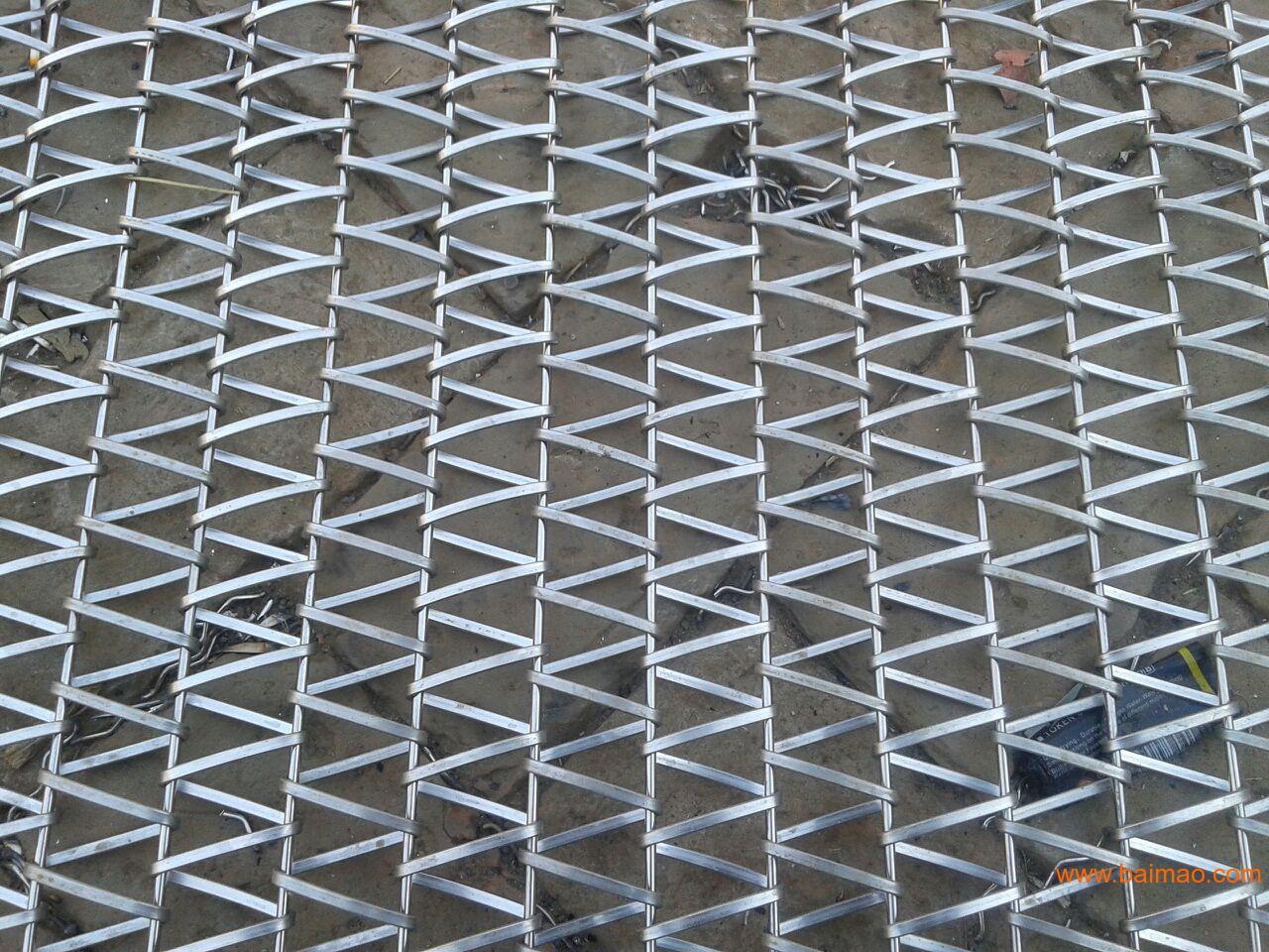 扁丝网带生产厂家 云南扁丝网带生产厂家 官渡区扁丝网带价格  国内扁
