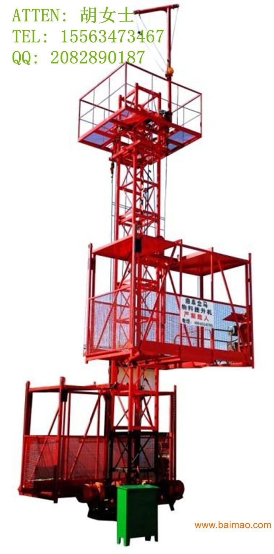 施工升降机导轨架图片