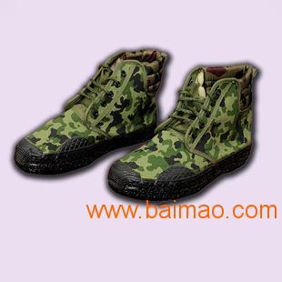 越南爱软高帮迷彩军用鞋 作训鞋 解放鞋,印度 越南爱软高帮迷彩军