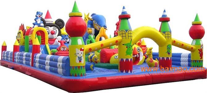 大型充气玩具/手摇船/摇摆机/儿童飞椅