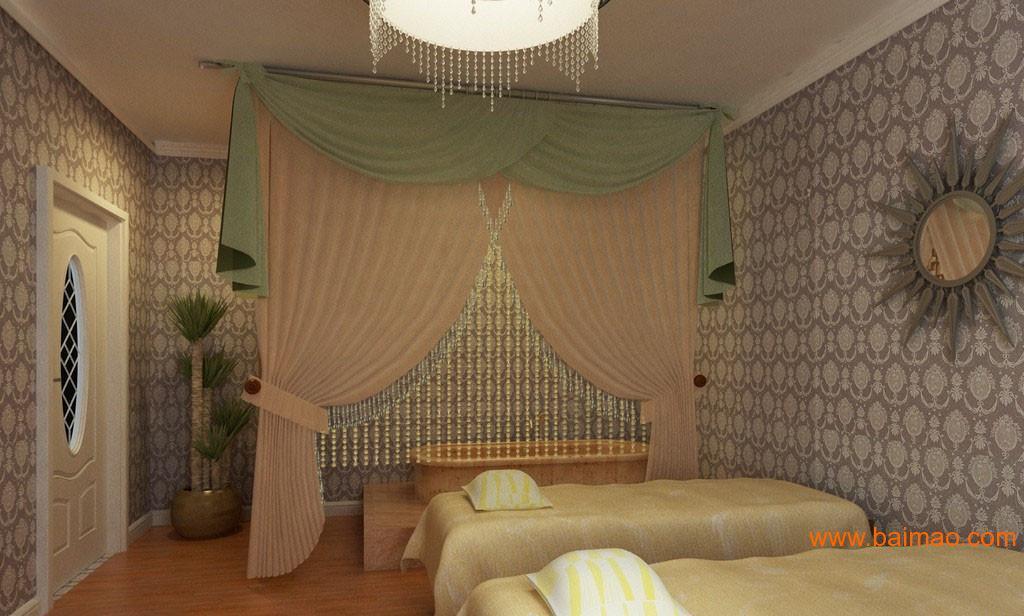 供应无锡美容院专用窗帘