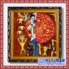 景德镇瓷板画 酒店瓷板壁画 手绘青花瓷板画