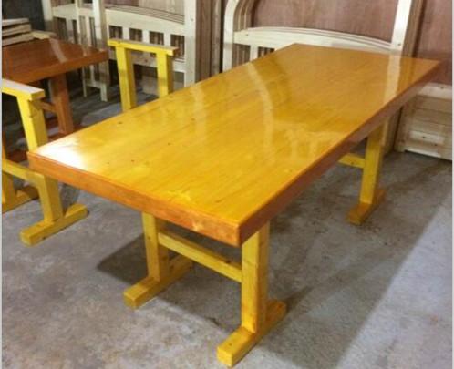 松木餐桌定做