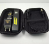 车充套装 四合一礼品移动电源套装 方管按键移动电源