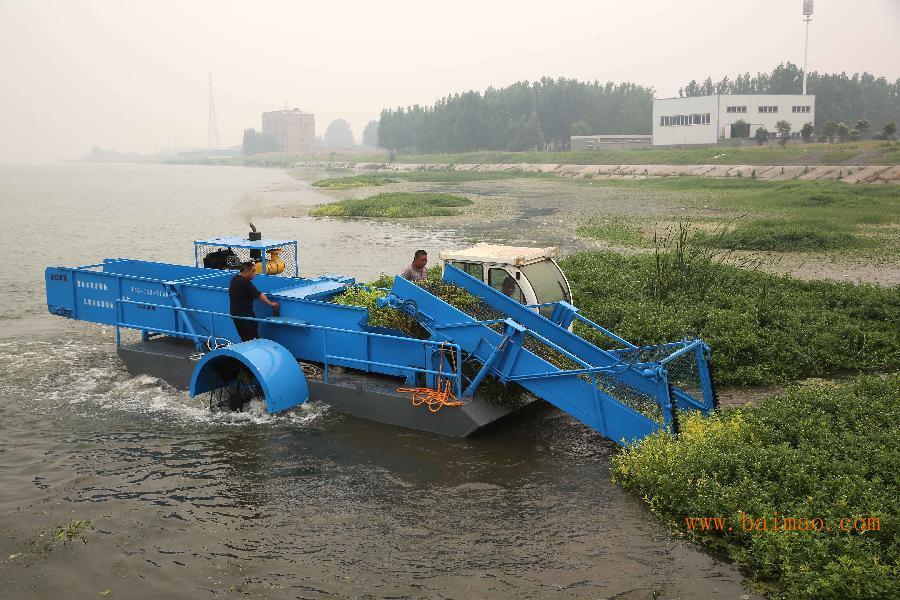 割草船;水面垃圾清理船