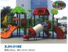 安全既环保的好玩的幼儿园塑料组合滑梯厂家直销