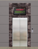 紫罗兰板电梯门套