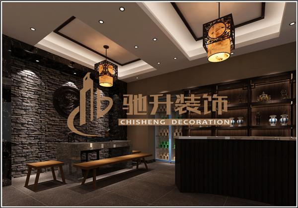 餐厅展厅展位设计
