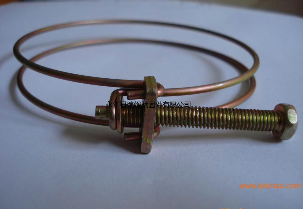 钢丝喉箍 规格 数量 单价 品价 厂家 安装 批发,钢