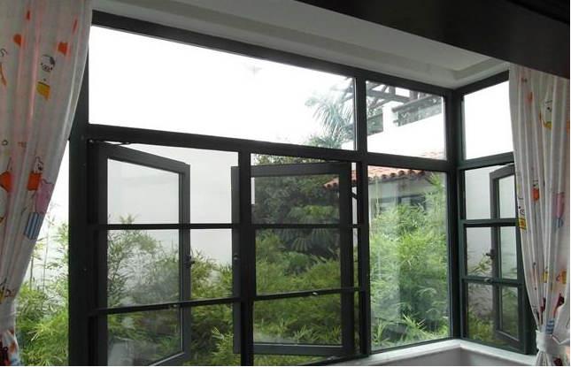 隐形防蚊防盗窗