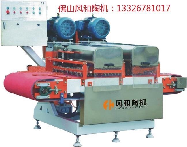 瓷砖加工机马赛克加工机FH-800双组刀连续介砖机