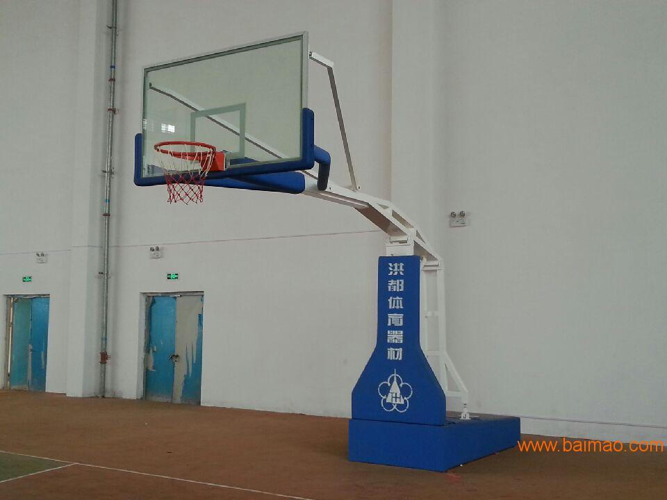 洪都电动液压篮球架 南昌篮球架 吉安篮球架厂家直销厂家/批发/供应商图片