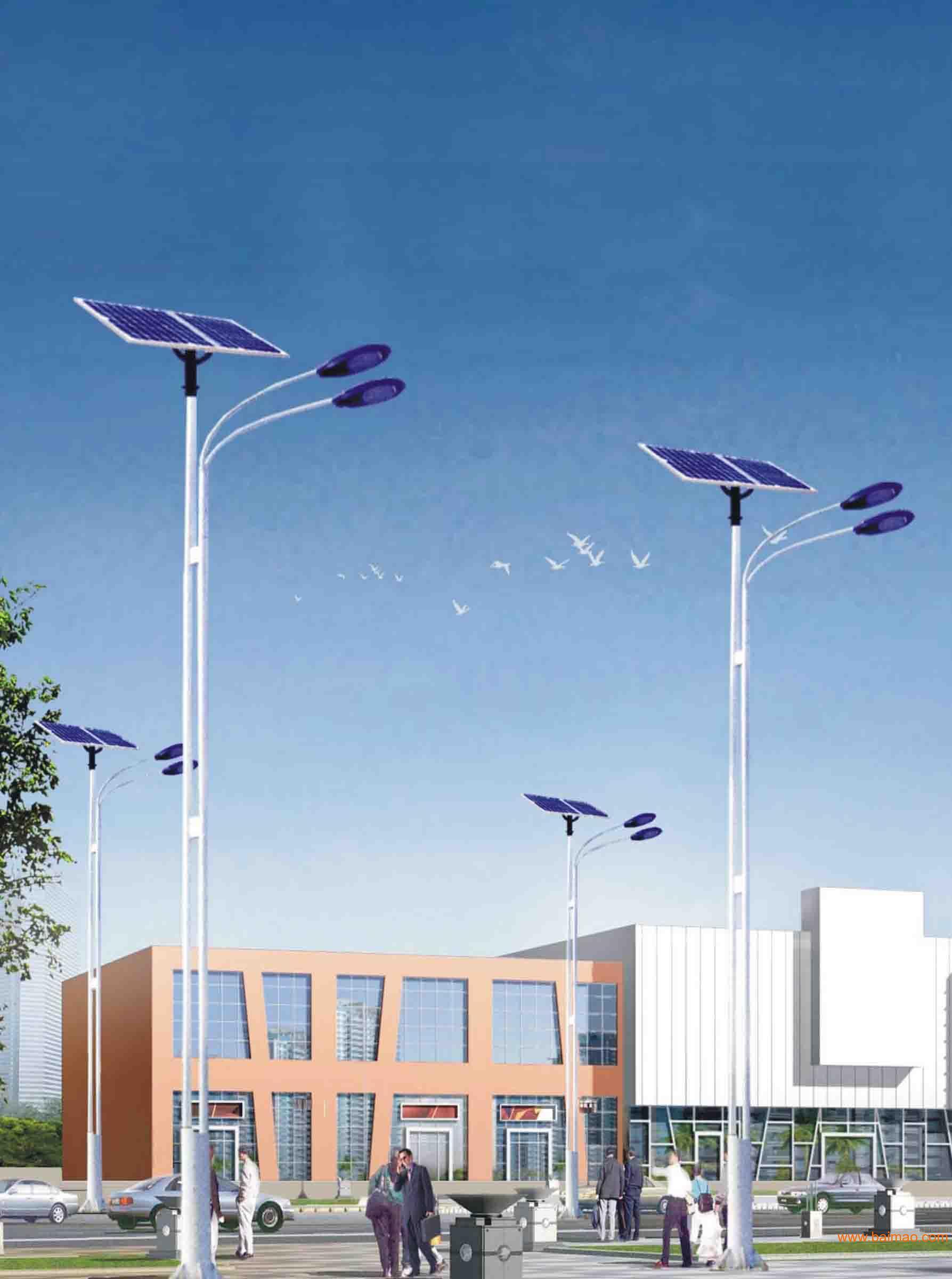供应泰安太阳能路灯 led灯 照明灯 高杆灯 广场灯