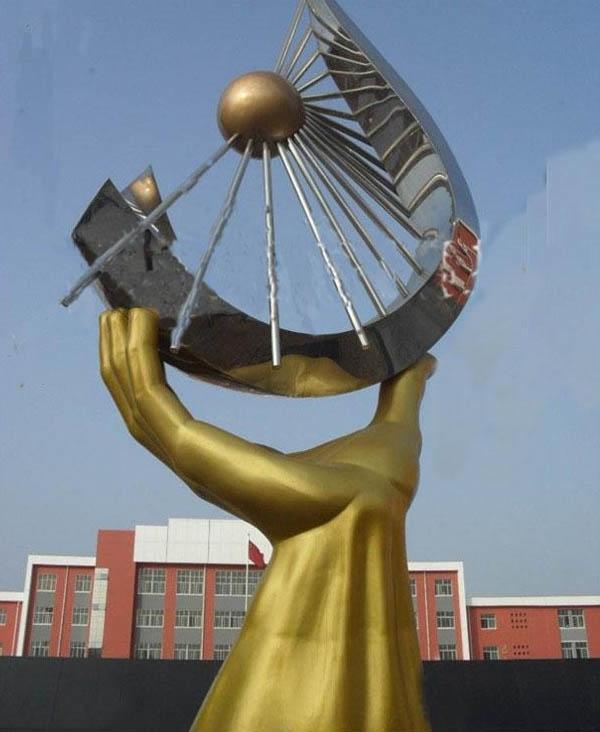 供应广场不锈钢雕塑企业雕塑