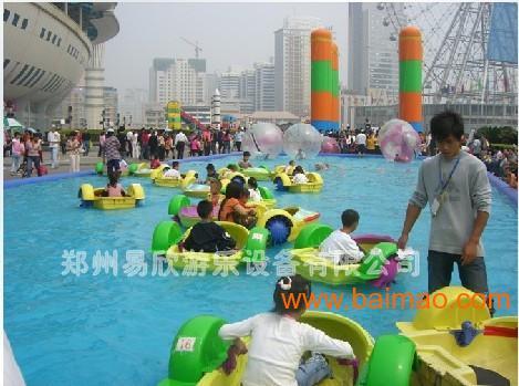水上游乐设备手摇船价格流行水上趣味器材水上滑梯价