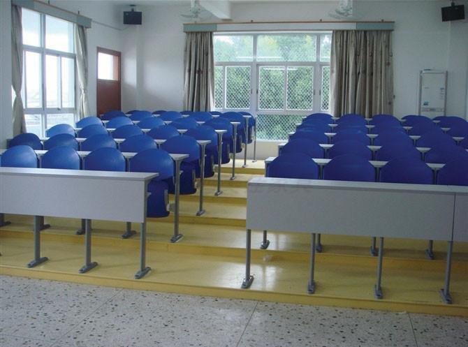 阶梯教室会议室连排桌椅,广东鸿美佳厂家提供连排桌椅