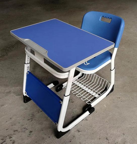新款热销塑钢小学生课桌椅,广东鸿美佳厂家供应课桌椅