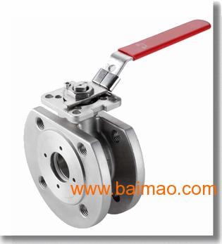 产品名称: 高平台对夹式球阀 产品型号: q71f 产品口径: dn50-dn100图片