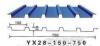 供应YX28-150-750彩钢镀镁铝锌墙面彩钢板