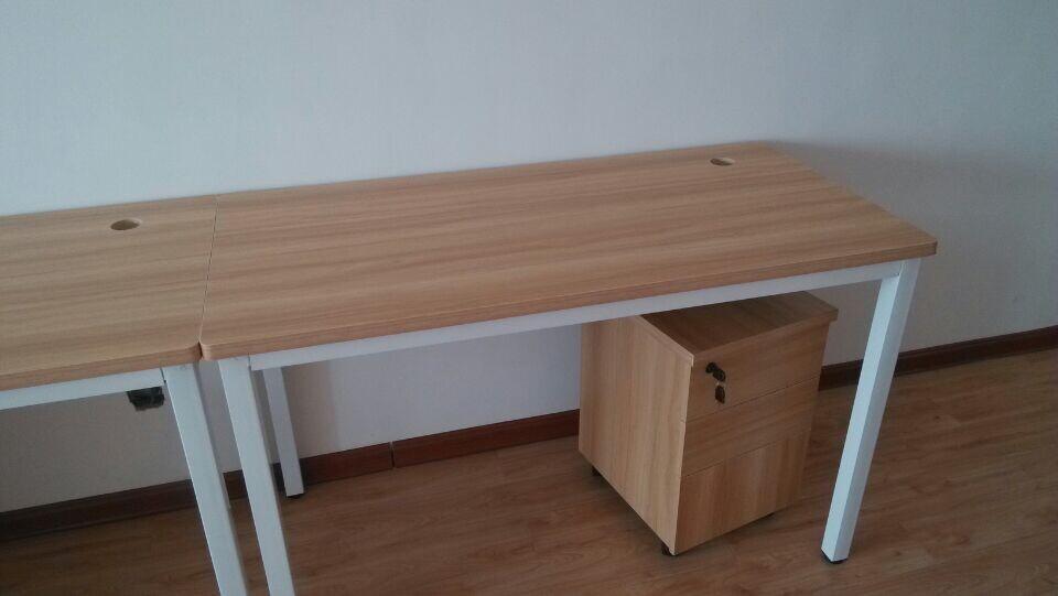长沙办公卡座办公桌钢架组合桌家具位图片卡芬欧式达家具238员工图片