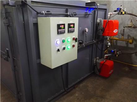 热水锅炉安装
