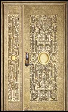厦门防爆门,铜质防爆艺术门
