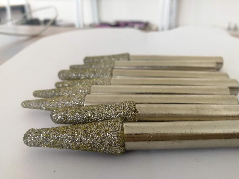 电镀金刚石多层雕刻刀 石材雕刻刀 异形定制