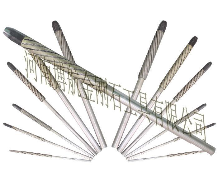 金刚石绞刀 珩磨绞刀 单通工具 异形定制