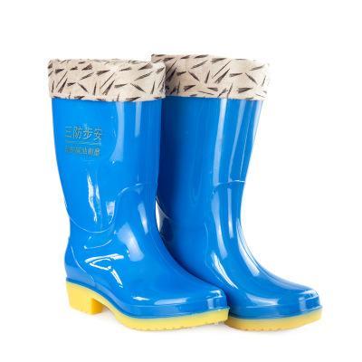 防滑防水冬季钓鱼雨靴