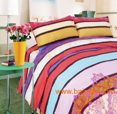 艺达家纺 特价床单 单/双人全棉活性印染 斜纹印花