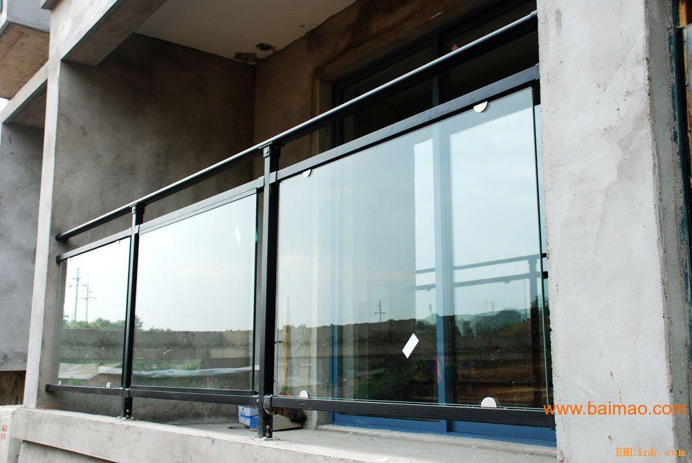 锌钢阳台玻璃护栏,锌钢阳台玻璃护栏生产厂家,锌钢阳台玻璃护栏价格