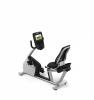 酒店健身房大屏智能卧式健身车必确RBK885健身车