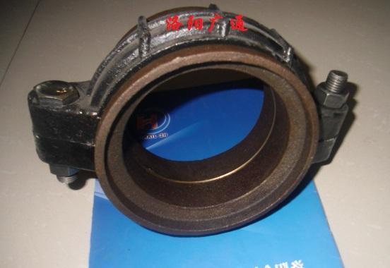 廠家供應卡箍式柔性管接頭KRJ型礦用快速接頭
