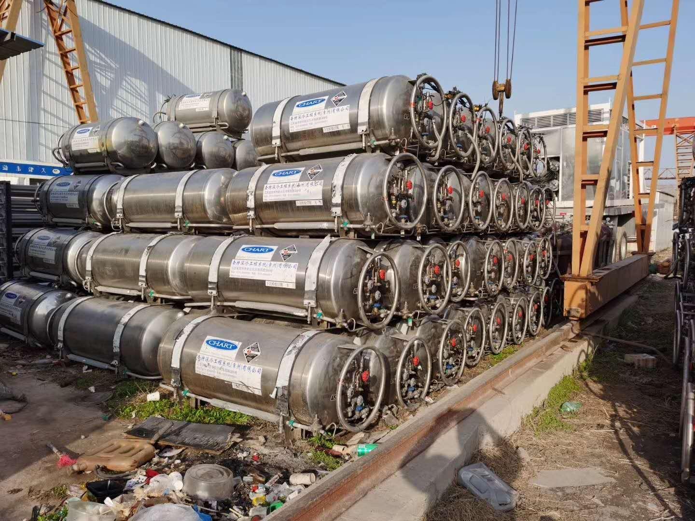 大量批發二手LNG450車載瓶  lng救援車用瓶