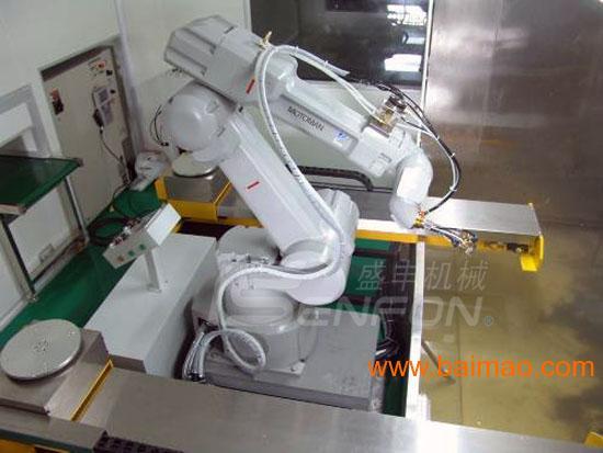 安川六轴喷涂机器人,减少与配线周边设备的干扰风险,安川六轴喷高清图片