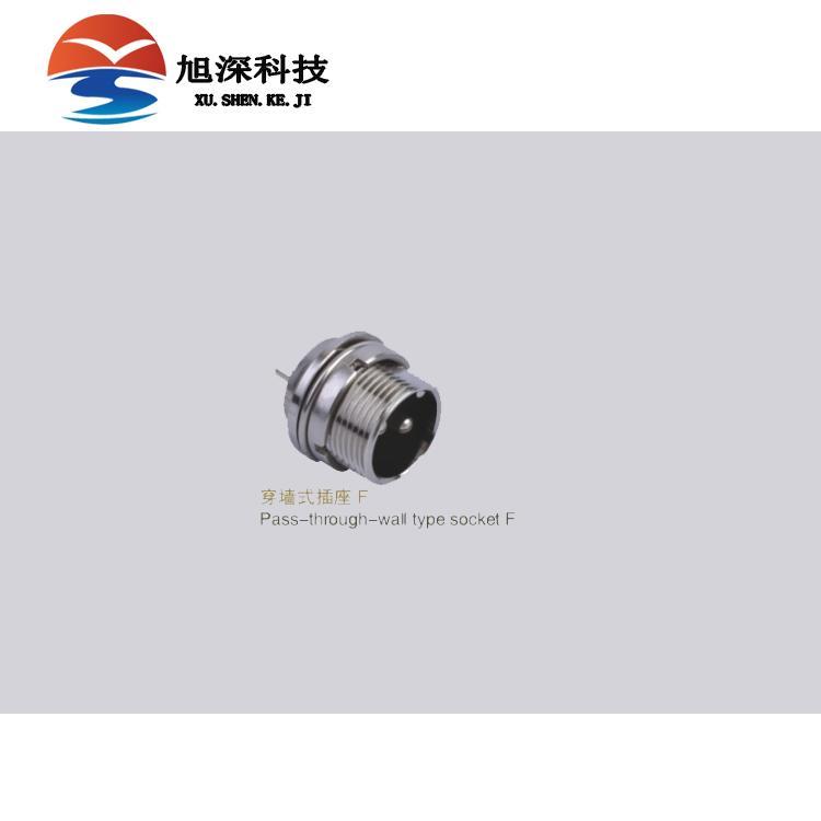 飞达甬丰连接器M12-2A直式插头2芯厂家直接