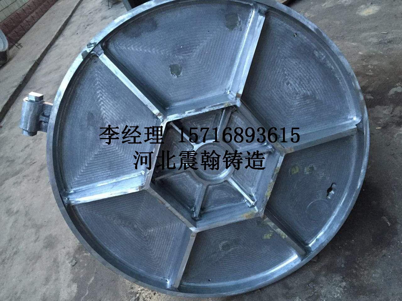 厂价批发球墨铸铁井盖700/800型 欢迎来电咨询