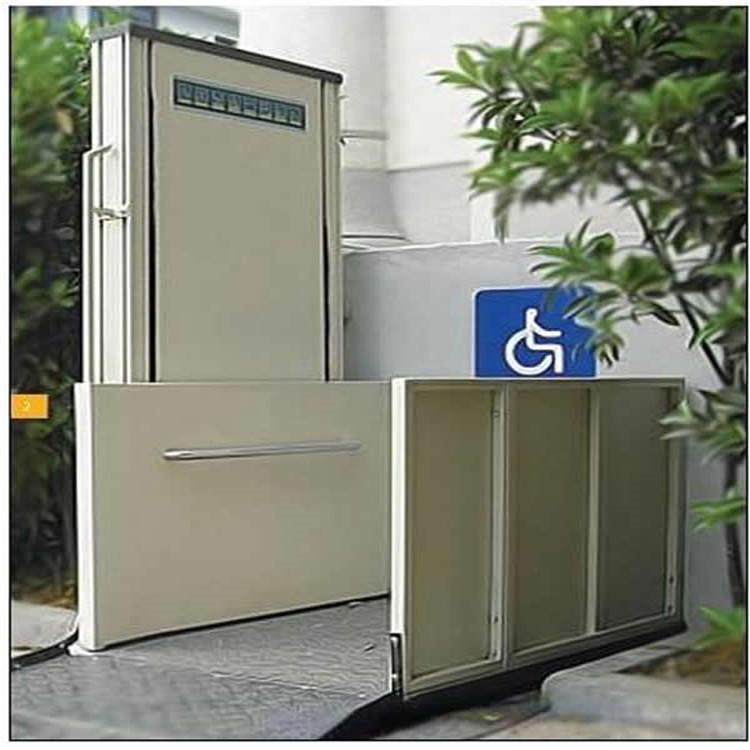残疾人楼梯升降机 室外无障碍升降平台 电动升降平台