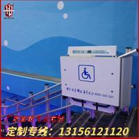 无障碍轮椅升降平台 家用电动升降机 斜挂 升降机