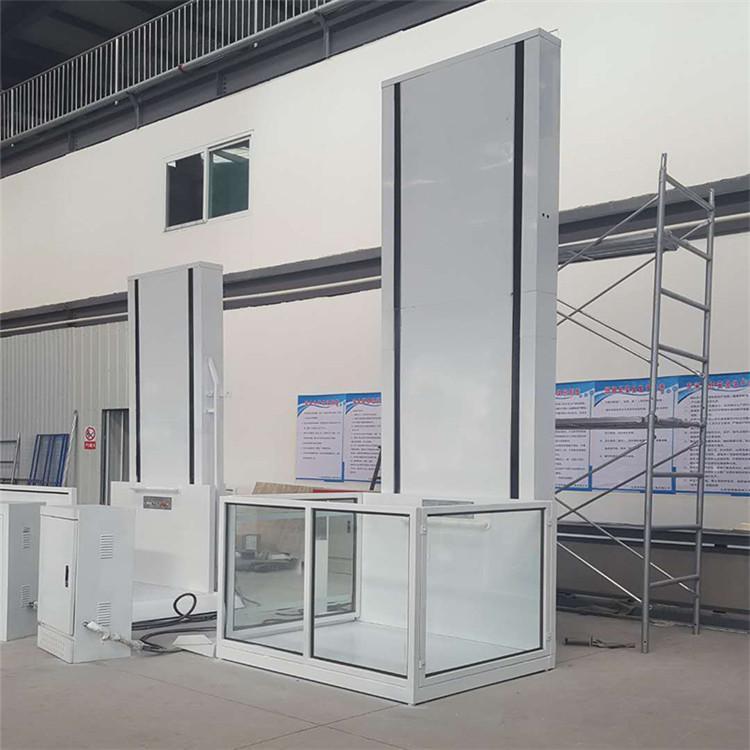 垂直升降平台 电动升降 室外无障碍升降机与电梯
