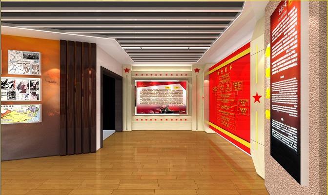 展览公司浅谈党建文化墙与企业接轨