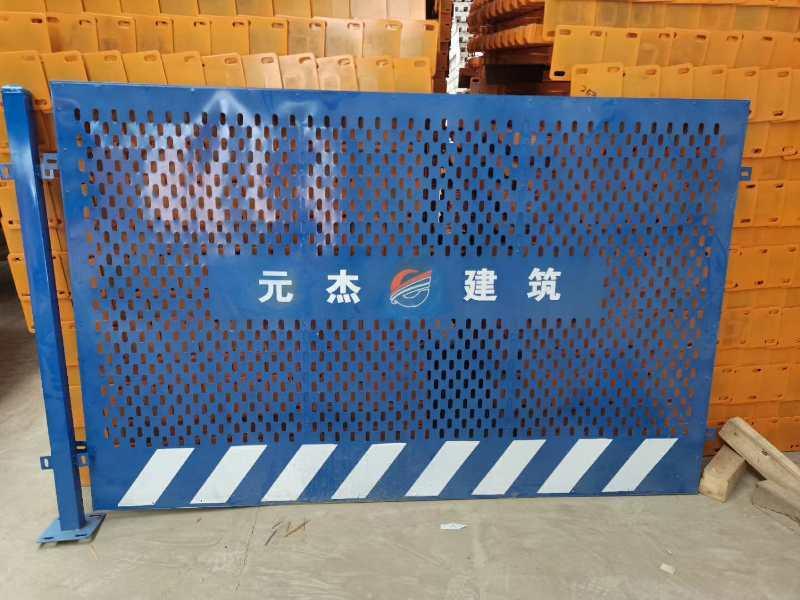 【厂家专业生产施工电梯门冲孔网电梯门铁板门面-企峰