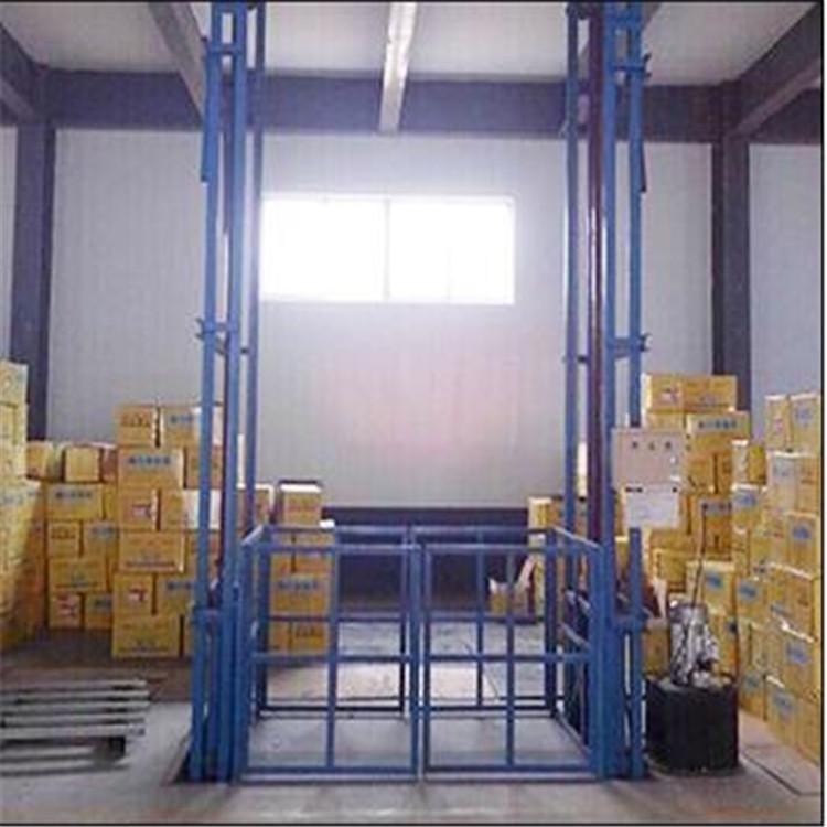 液压货梯厂家 导轨式升降机 非剪叉式液压升降平台