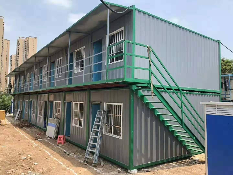 集装箱活动板房鬼眼厂家支持定制别墅工地临时使用
