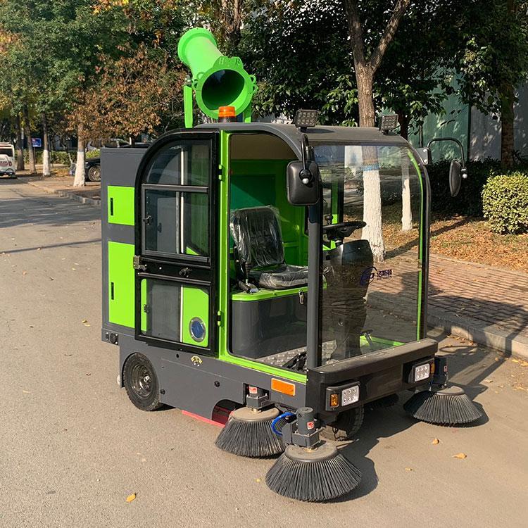 小型电动扫地车 工业扫地车 驾驶式物业小区吸尘扫地